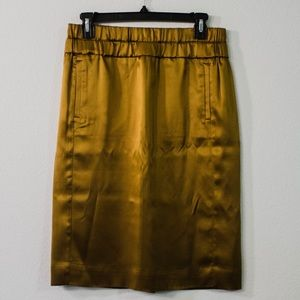 J. Crew 100% Silk Skirt